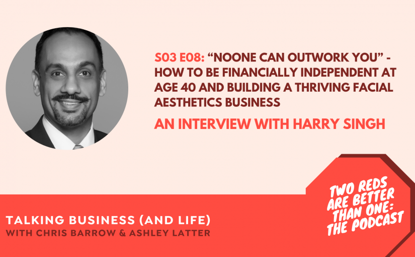 TRBO Season 3 Episode 8 – HOW TO BE FINANCIALLY INDEPENDENT AT AGE 40 THROUGH PROPERTY INVESTMENT AND BUILD A THRIVING FACIAL AESTHETICS BUSINESS