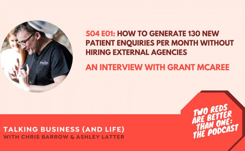 TRBO S4 E1 – HOW TO GENERATE 130 NEW PATIENT ENQUIRIES PER MONTH WITHOUT HIRING EXTERNAL AGENCIES