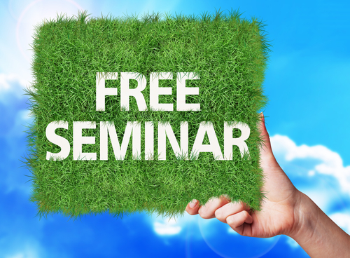 FREE Evening Seminar and 2 Hours CPD – Manchester (February 2019)